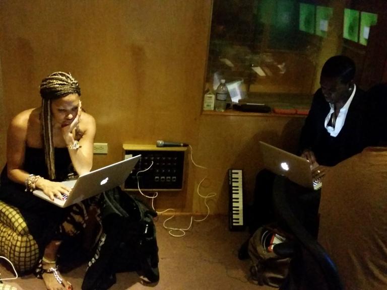 Studio Time in Jamaica