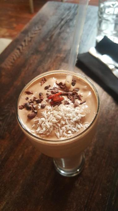 The TOP of the CACAO SHAKE