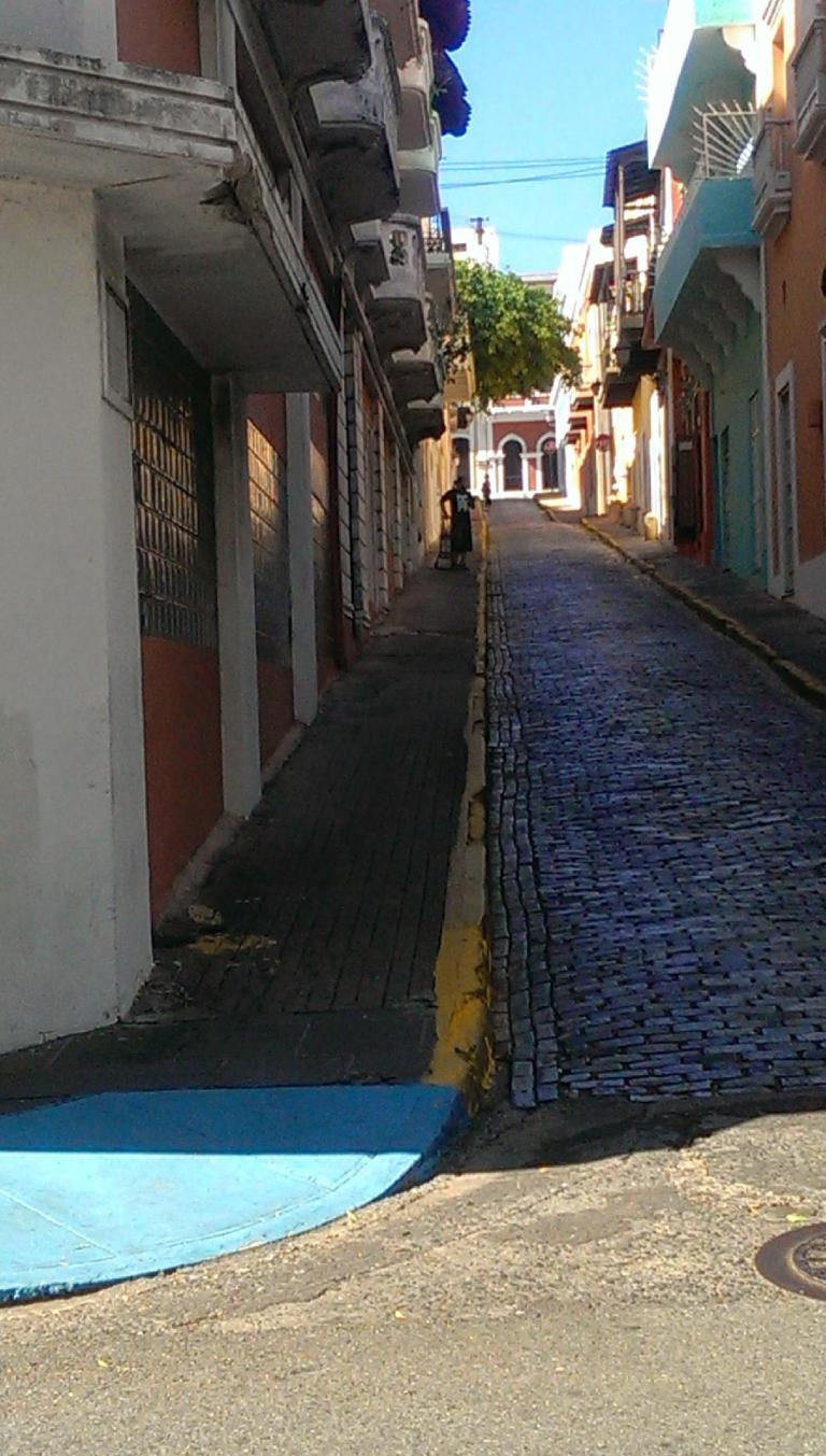 somewhere in San Juan